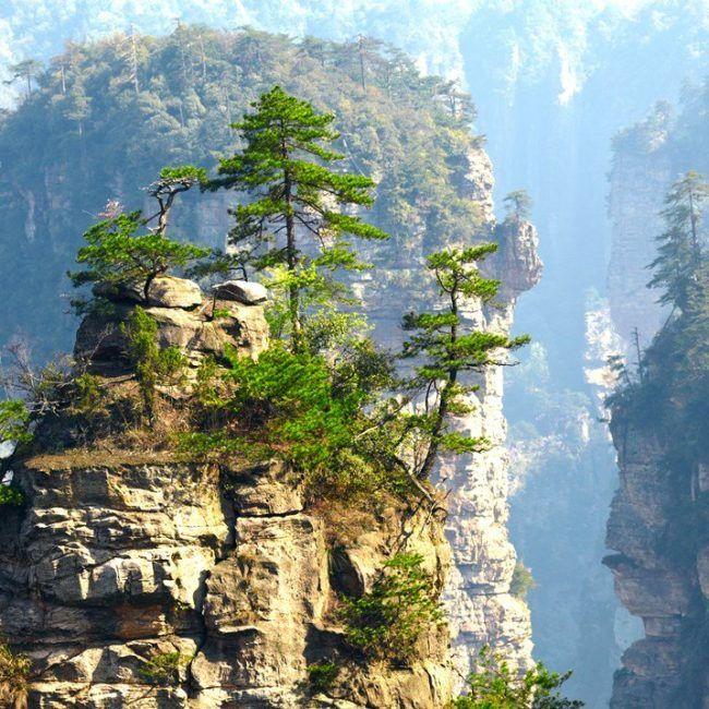 Montagnes et villages de Chine du sud