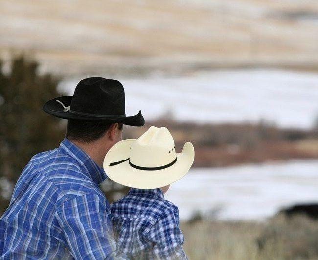 Cow Boy aux États-Unis