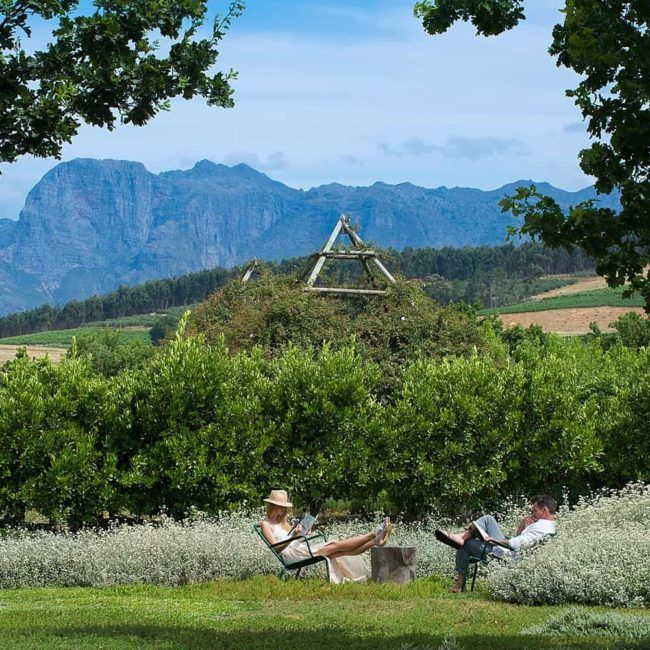 Babylonstoren's Farm Hotel - Région du Cap - Afrique du Sud