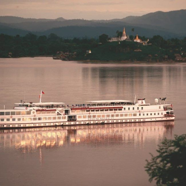 Belmond Road to Mandalay - Myanmar