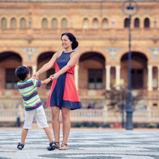 Autotour famille en Andalousie avec Ipad