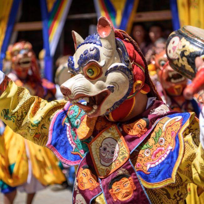 Le Bhoutan des festivals