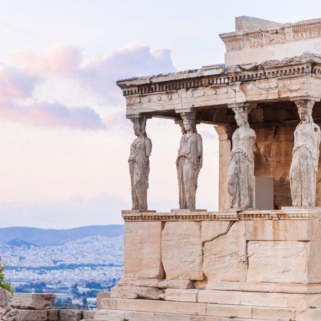 Retour à Athènes - Grèce