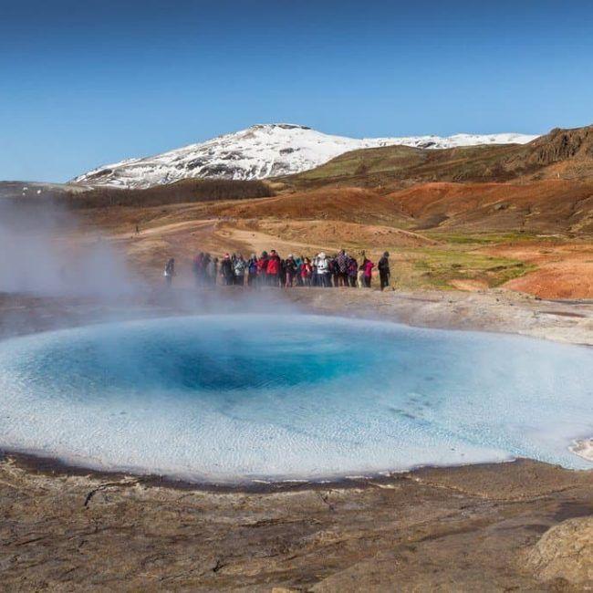 Expérience en Arctique - Islande